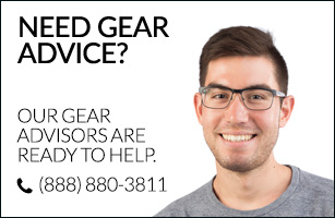 Need Gear Advice? Our Gear Advisors are here to help. (888) 880-3811