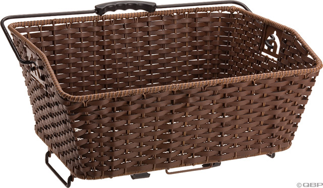 AXIOM FAUX WICKER QR GROCERY BASKET