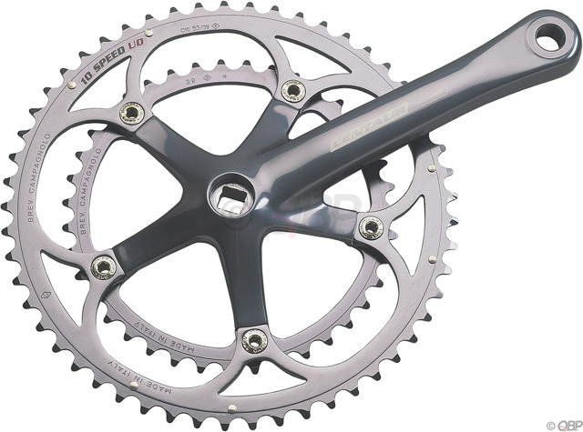 CAMPAGNOLO CENTAUR DOUBLE CRANKSET
