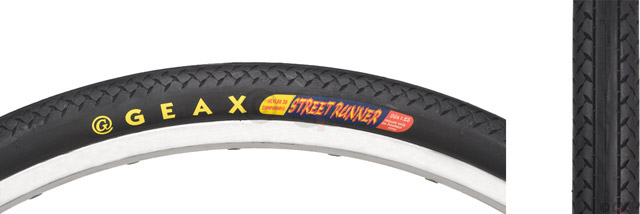 Buy GEAX STREET RUNNER TIRE (Geax, Geax Bicycle Components, Bicycle Components, Bicycle Tires)