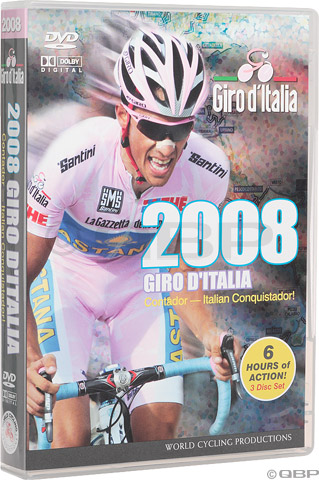 Buy 2008 GIRO D ITALIA DVD (Bicycle Videos and DVDs, World Cycling Productions Bicycle Videos and DVDs)