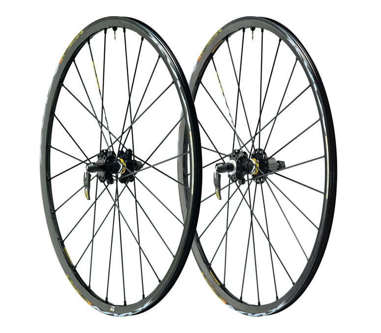 MAVIC CROSSMAX ST DISC WHEELS 09